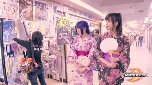 《拳皇97ol》东京大阪拍摄地全接触图片