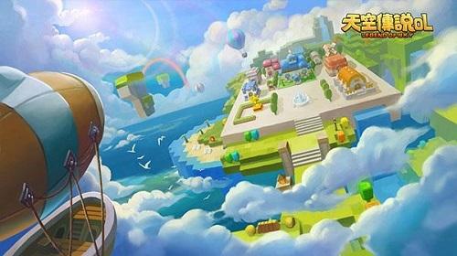《天空传说》游戏背景简述